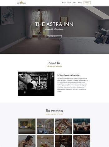 hotel wordpress demo site