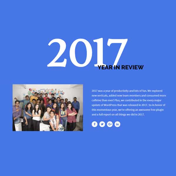 review wordpress demo site